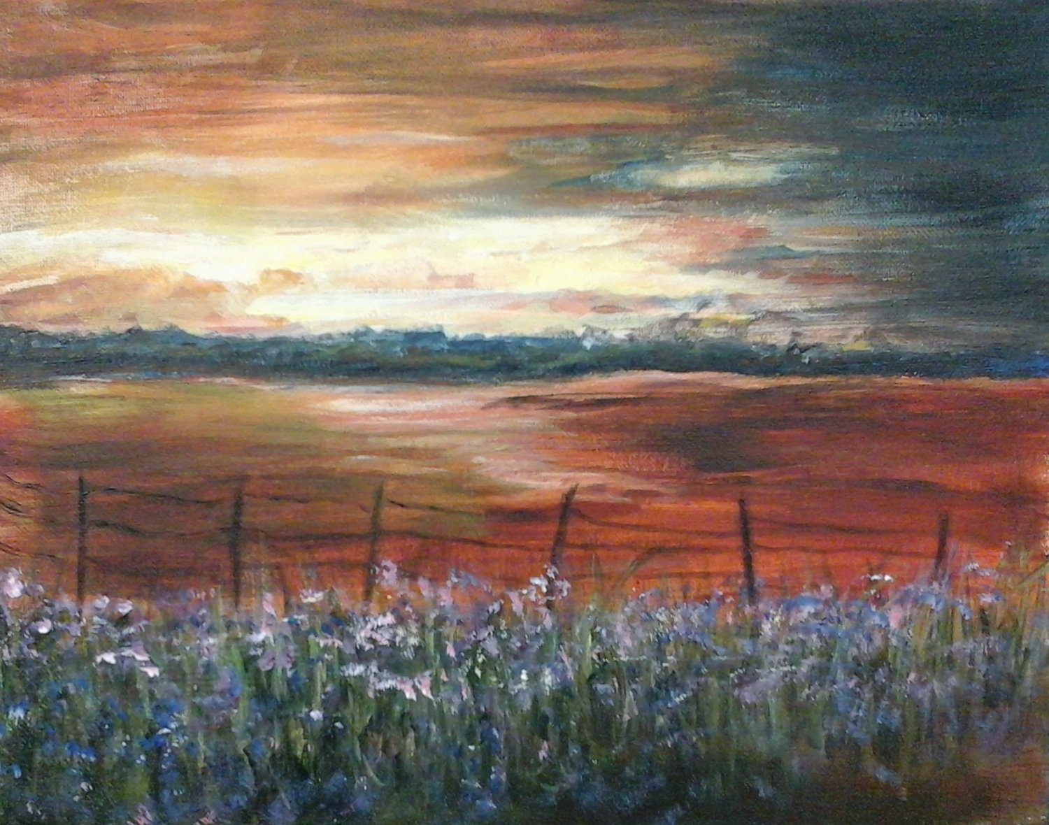 After the Storm - Henne's Afternoon Painting Party