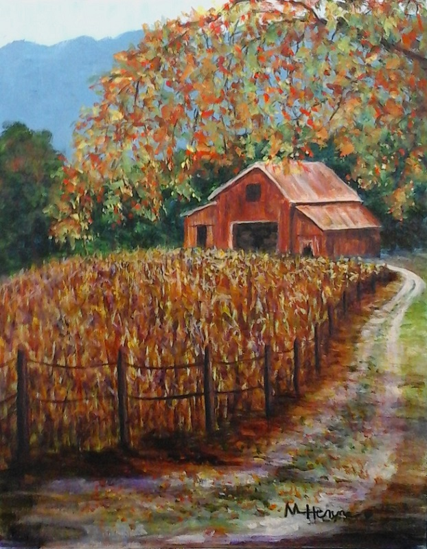 Autumn in the Country - Henne's Spirited & Afternoon Painting Parties