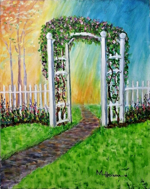 Becky's Arbor - Henne's Spirited Painting and Afternoon Painting Parties