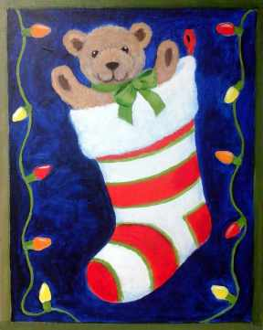 Christmas Stocking - Henne's Spirited Painting Parties