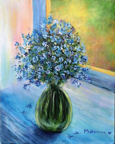 Forget Me Not - Henne's Spirited Painting Party