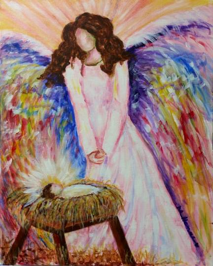 Guardian Angel - Henne's Spirited Painting Party