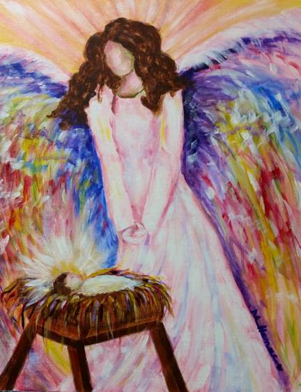 Guardian Angel - Henne's Afternoon Painting Party