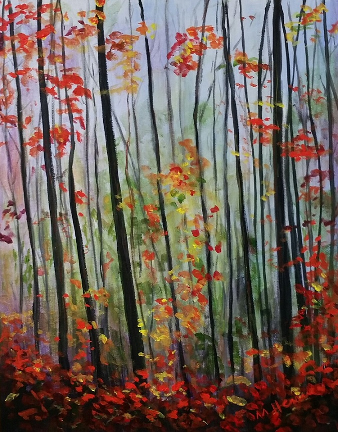 Last Days of Autumn - Henne's Afternoon Painting Parties