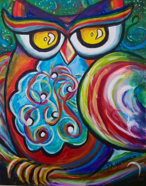 It's A Hoot! - Henne's Spirited & Afternoon Painting Parties
