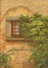 Torre Window - Pastel painting by Joan Garverick