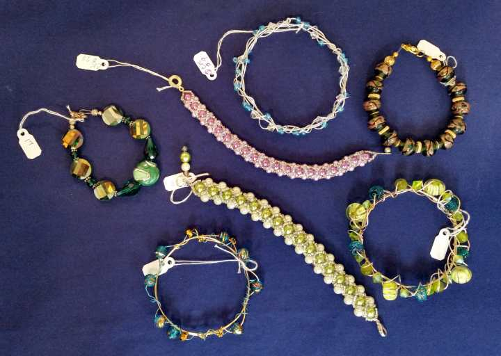 Braclets and Bangles - Custome Jewelry by Carolyn Kelly