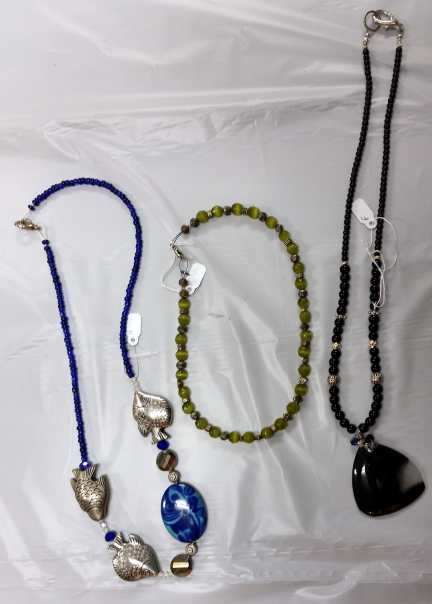 Necklaces - Custome Jewelry by Carolyn Kelly