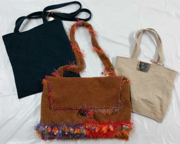 Felted Purses - Textiles by Pat Olson