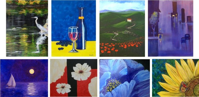 Spirited Painting Party - Painting Choices