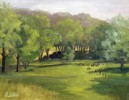Peacefull Malabar - Oil Painting by Judy Fisher Walton