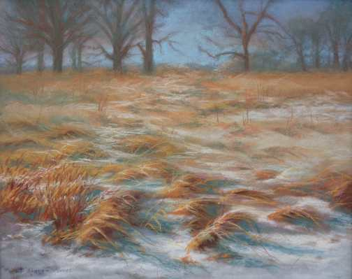 Wind Swept - Pastel painting by Sharon Weaver