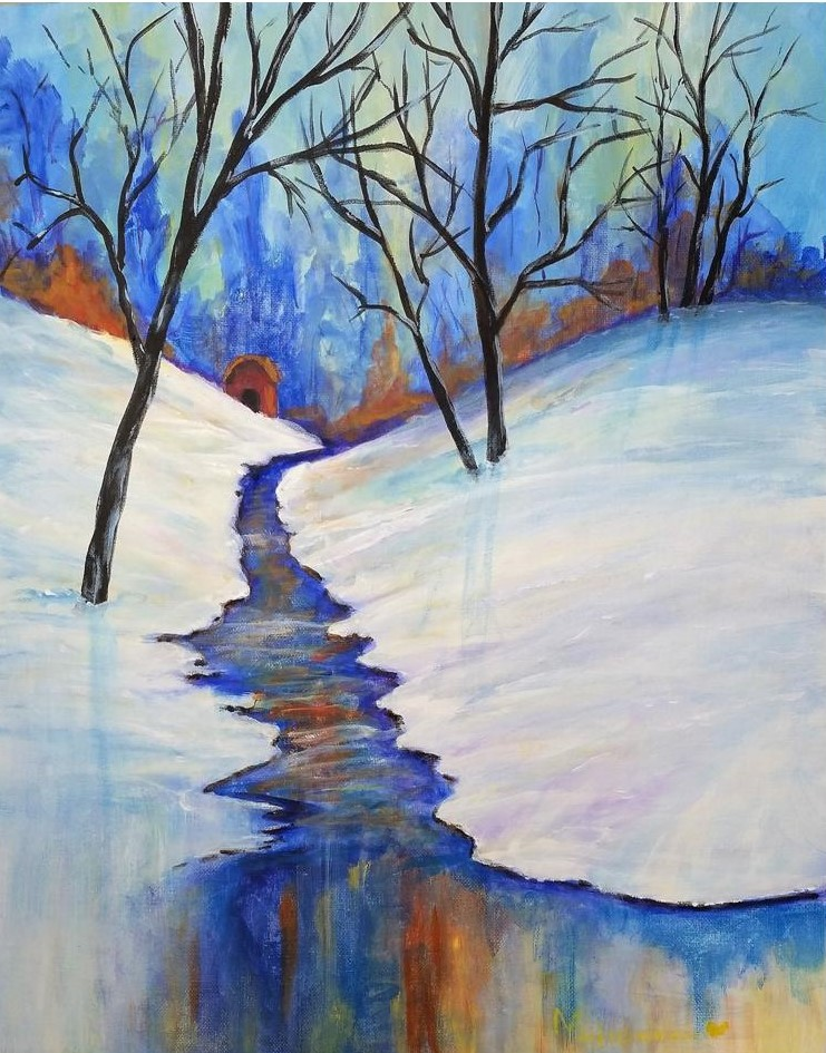 Winter Brook - Henne's Spritied & Afternoon Painting Parties